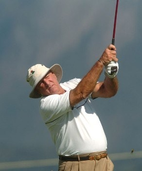 Jim Albus in action during the second round of the 2005 Boeing Greater Seattle Classic at TPC at Snoqualmie Ridge in Snoqualmie, Washington August 20, 2005.Photo by Steve Grayson/WireImage.com