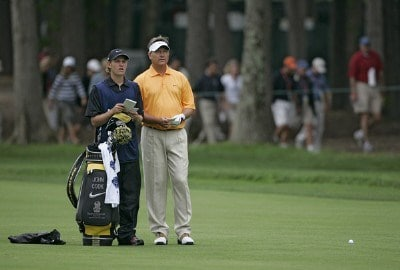 John Cook during the first round of the 2006 U.S. Open Golf Championship at Winged Foot Golf Club in Mamaroneck, New York on June 15, 2006.Photo by Michael Cohen/WireImage.com