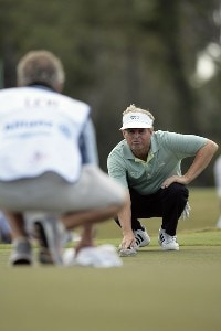 Wayne Levi during the first round of the 2007 Allianz Championship at the Old Course at Broken Sound Club in Boca Raton, Florida on February 9, 2007. Champions Tour - 2007 Allianz Championship - First RoundPhoto by Pete Fontaine/WireImage.com
