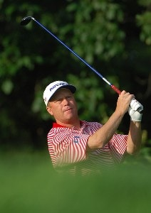 Jeff Sluman during practice for the 2006 U.S. Open Golf Championship held at Winged Foot Golf Club in Mamaroneck, New York on June 14, 2006.