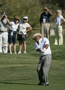 Jim Thorpe makes an eagle on #2 during the first round of the Charles Schwab Cup Championship held at Sonoma Golf Club in Sonoma, California, on October 26, 2006. Photo by: Chris Condon/PGA TOURPhoto by: Chris Condon/PGA TOUR