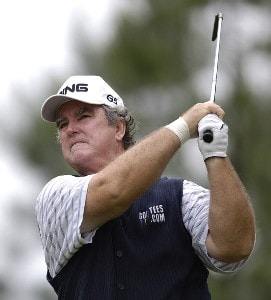 Ed Dougherty during the first round of the Regions Charity Classic held at Robert Trent Jones Golf Trail at Ross Bridge in Birmingham, AL, on May 5, 2006.Photo by Steve Levin/WireImage.com