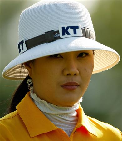 BETHLEHEM, PA - JULY 09:  Meena Lee of South Korea walks off the 15th tee during the first round of the 2009 U.S. Women's Open at Saucon Valley Country Club on July 9, 2009 in Bethlehem, Pennsylvania.  (Photo by Streeter Lecka/Getty Images)