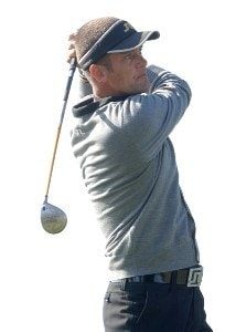 Jesper Parnevik hits from the 17th tee during the final round of the PGA TOUR's 2006 Buick Invitational at Torrey Pines South in La Jolla, California January 29, 2006.Photo by Steve Grayson/WireImage.com