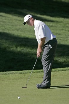 Todd Fischer in action during the second round at the Reno-Tahoe Open,  August 19,2005, held at Montreux GC, Reno, Nevada.Photo by Stan Badz/PGA TOUR/WireImage.com