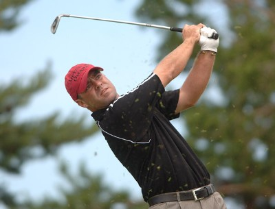 Ryan Armour in action during the second round of the Nationwide Tour 2006 LaSalle Bank Open at The Glen Club in Glenview, Illinois on June 9, 2006.Photo by Steve Grayson/WireImage.com