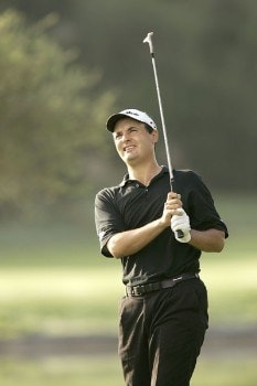 Simon Khan during the second round of the 2005 Mallorca Classic at the Pula Golf Club in Mallorca, Spain on October 21, 2005.Photo by Pete Fontaine/WireImage.com