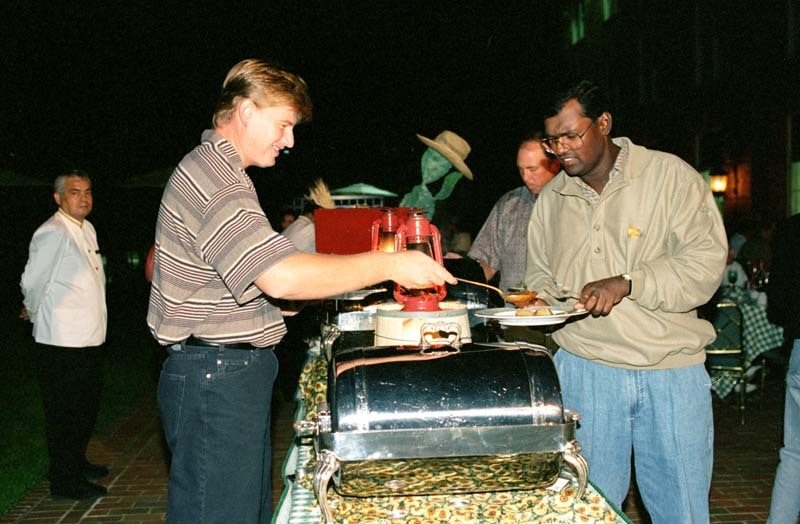 Ernie Els and Vijay Singh, 1996 Presidents Cup