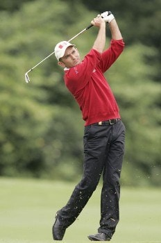 Markus Brier during the second round of the 2005 Smurfit European Open on the Palmer Course at the K Club in Straffan, Ireland on July 1, 2005.Photo by Pete Fontaine/WireImage.com