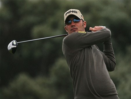 SOUTHPORT, UNITED KINGDOM - JULY 18:  Gregory Havret of France tees off on the 2nd during the second round of the 137th Open Championship on July 18, 2008 at Royal Birkdale Golf Club, Southport, England.  (Photo by Andy Lyons/Getty Images)