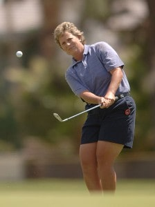Brandie Burton in action during the final round of the LPGA's 2006 Takefuji Classic at the Las Vegas Country Club in Las Vegas, Nevada April 15, 2006Photo by Steve Grayson/WireImage.com
