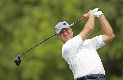Steve Elkington during the first round of the Buick Open held at Warwick Hills Golf & Country Club in Grand Blanc, Michigan, on June 28, 2007. Photo by: Chris Condon/PGA TOURPhoto by: Chris Condon/PGA TOUR