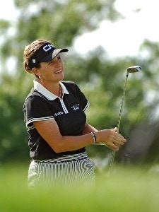 Lorie Kane  during the first round of the LPGA, Inaugural, Ginn Open on Thursday, April 27, 2006 at the Reunion Resort and Club in Reunion, FloridaPhoto by Marc Feldman/WireImage.com