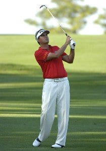 Daniel  Chopra plays into the fifth green  during the second round of the PODS Championship at Innisbrook Resort and Golf Club in Palm Harbor, Florida on March 9, 2007. Photo by Al Messerschmidt/WireImage.com