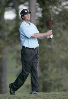 Chris Couch during the first round of the Nationwide Tour Championship held on the Senator course at Capitol Hill GC in Prattville, Alabama on Thursday, October 27, 2005.Photo by Sam Greenwood/WireImage.com