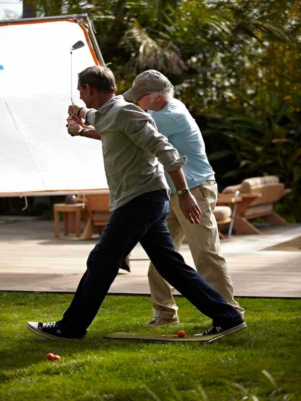 The Haney Project, Hank Haney and Larry David