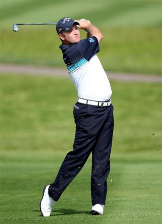 NEWPORT, WALES - JUNE 03: Alastair Forsyth of Scotland during the first round of the Celtic Manor Wales Open on the 2010 Course at the Celtic Manor Resort on June 3, 2010 in Newport, Wales.  (Photo by Ross Kinnaird/Getty Images)