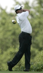 Chris Couch during the first round of the Cialis Western Open on the No. 4 Dubsdread course at Cog Hill Golf and Country Club in Lemont, Illinois on July 6, 2006.Photo by Michael Cohen/WireImage.com