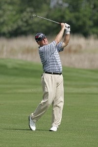 Tom Jenkins competes in the first round of the Liberty Mutual Legends of Golf at Westin Savannah Harbor Golf Resort & Spa in Savannah, Georgia, on April 21, 2006.Photo by: Chris Condon/PGA TOUR