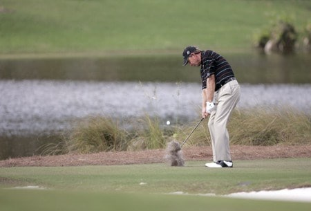Nick Price during the second round of the Franklin Templeton Shark Shootout held on the Tiburon course at the Ritz-Carlton Golf Resort in Naples, Florida on Saturday, November 12, 2005.Photo by Sam Greenwood/WireImage.com