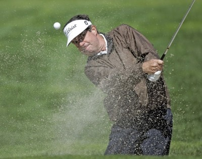 Bruce Lietzke in action during the second round of the Toshiba Classic, March 18, 2006, held at Newport Beach Country Club, Newport Beach, California.