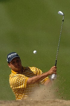 Omar Uresti in action during the third round of the PGA's Tour 2005 Chrysler Classic of Tucson at the Omni Tucson National Golf Resort & Spa February 26, 2005 in Tuscon, Arizona.