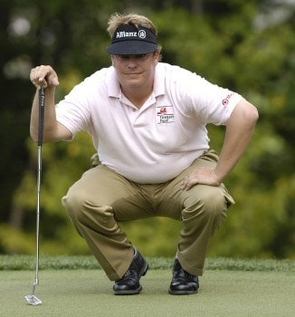 Tim Herron during the final round of the 84 Lumber Classic on Sunday, September 18, 2005  held at the Mystic Rock Golf Course/Nemacolin Woodlands Resort  in Farmington, PennsylvaniaPhoto by Marc Feldman/WireImage.com