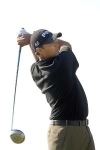 Arjun Atwal hits from the 17th tee during the final round of the PGA TOUR's 2006 Buick Invitational at Torrey Pines South in La Jolla, California January 29, 2006.Photo by Steve Grayson/WireImage.com