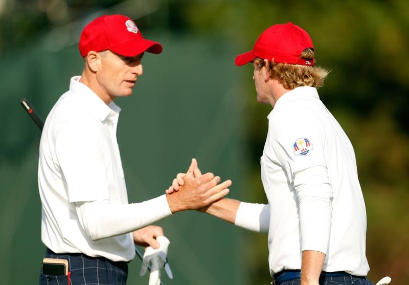 Jim Furyk and Brandt Snedeker