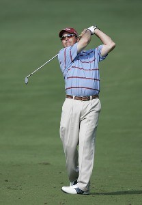 Rich Beem during the first round of the Chrysler Classic of Greensboro at Forest Oaks Country Club in Greensboro, North Carolina on October 5, 2006. PGA TOUR - 2006 Chrysler Classic of Greensboro - First RoundPhoto by Michael Cohen/WireImage.com
