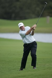 Allen Doyle in action during the first round of the 2006 Turtle Bay Championship - Turtle Bay Resort, Kahuku, Oahu, HawaiiPhoto by: Chris Condon/PGA TOUR