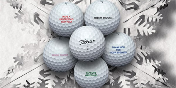 Titleist Custom golf balls