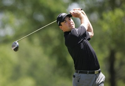 Arron Oberholser during the final round of the 2007 Wachovia Championship held at Quail Hollow Country Club in Charlotte, North Carolina on May 6, 2007. PGA TOUR - 2007 Wachovia Championship - Final RoundPhoto by Richard Schultz/WireImage.com