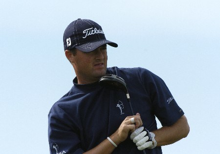 Ryan Palmer  competes  in  second  round competition at the 2005 Honda Classic March 11, 2005 in Palm Beach Gardens, Florida.