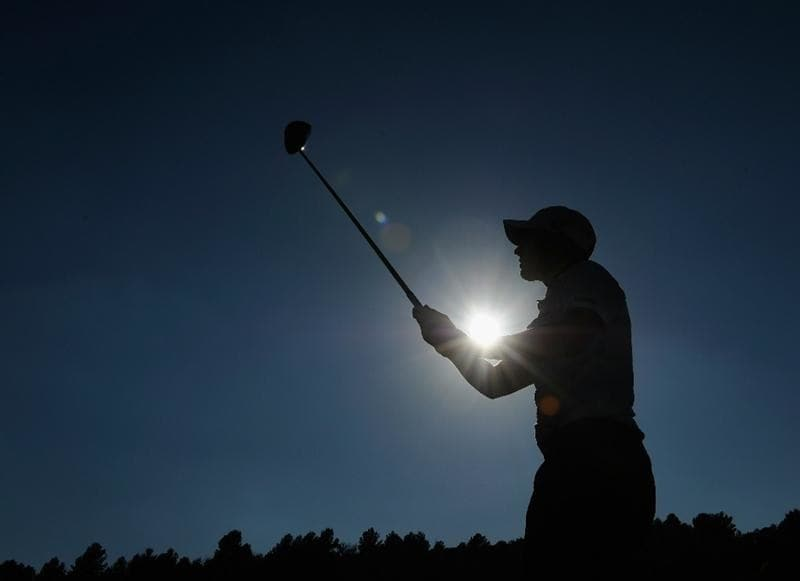 CASTELLON DE LA PLANA, SPAIN - OCTOBER 23:  Matteo Manassero of Italy plays his tee shot on the 18th hole during the third round of the Castello Masters Costa Azahar at the Club de Campo del Mediterraneo on October 23, 2010 in Castellon de la Plana, Spain.  (Photo by Stuart Franklin/Getty Images)