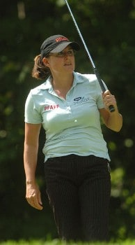 Heather Daly-Donofrio in action during the first round of the LPGA's Wendy's Championship For Children at Tartan Fields Golf Club in Dublin, Ohio August 25, 2005.Photo by Steve Grayson/WireImage.com