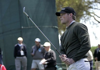 James Driscoll during the final round of THE PLAYERS Championship held at the TPC Stadium Course in Ponte Vedra Beach, Florida on March 26, 2006.Photo by Michael Cohen/WireImage.com
