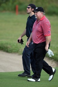 Craig Stadler and his son Chris Stadler walk on the 10th hole during the final round of the 2007 Del Webb Father Son Challenge on the International Course at Champions Gate Golf Club, on December 2, 2007 in Champions Gate, Florida, Champions Tour - Del Webb Father-Son Challenge - Final RoundPhoto by David Cannon/WireImage.com