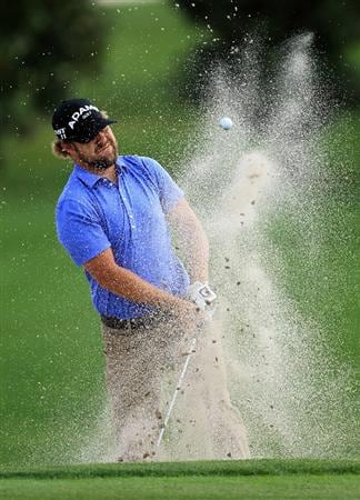 ORLANDO, FL - MARCH 24:  Ryan Moore of the USA plays his third shot at the 15th hole during the first round of the 2011 Arnold Palmer Invitational presented by Mastercard at the Bay Hill Lodge and Country Club on March 24, 2011 in Orlando, Florida.  (Photo by David Cannon/Getty Images)