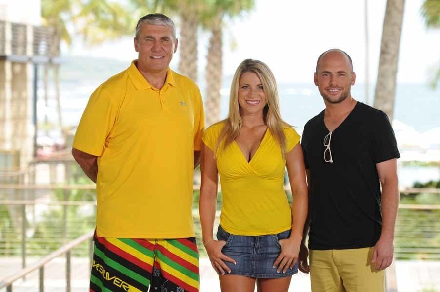 Team Rypien of Big Break NFL Puerto Rico
