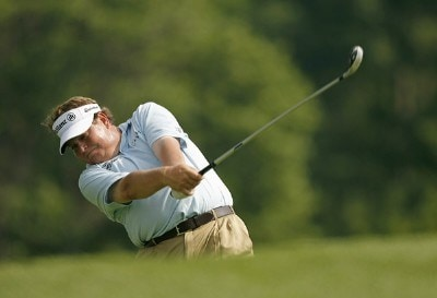 Tim Herron during the first round of the Memorial Tournament Presented by Morgan Stanley held at Muirfield Village Golf Club in Dublin, Ohio, on May 31, 2007. Photo by Mike Ehrmann/WireImage.com