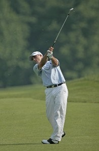 Jonathan Byrd during the first round of the Memorial Tournament Presented by Morgan Stanley held at Muirfield Village Golf Club in Dublin, Ohio, on May 31, 2007. Photo by: Chris Condon/PGA TOURPhoto by: Chris Condon/PGA TOUR