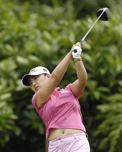 Jeong Jang during the first round of the ADT Championship at the Trump International Golf Club in West Palm Beach, Florida on Thursday, November 16, 2006. LPGA - 2006 ATD Championship - First RoundPhoto by Steve Levin/WireImage.com