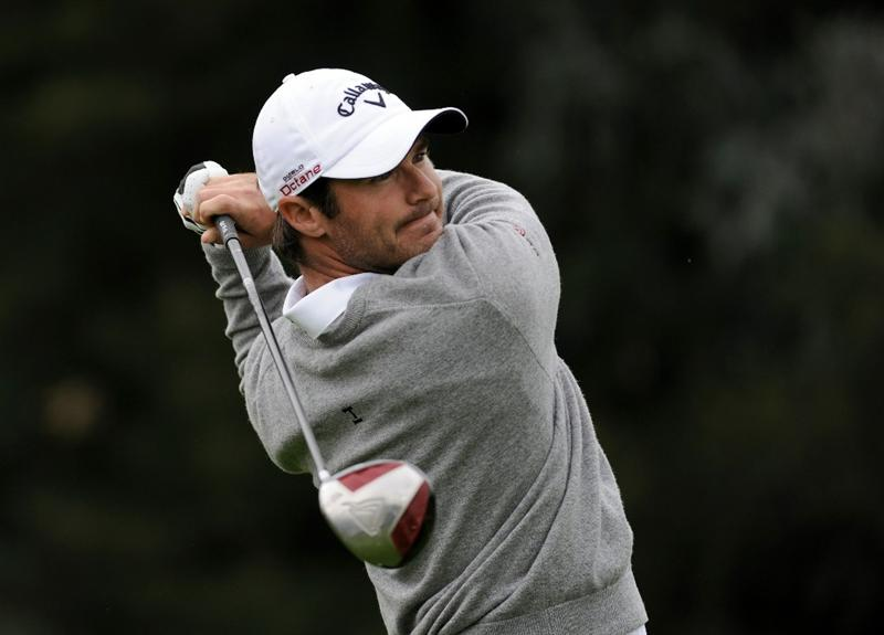 PACIFIC PALISADES, CA - FEBRUARY 19:  Trevor Immelman of South Africa hits a tee shot on the 17th hole during the third round of the Northern Trust Open at the Riviera Contry Club on February 19, 2011 in Pacific Palisades, California.  (Photo by Harry How/Getty Images)