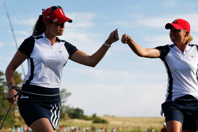 Paula Creamer, Stacy Lewis