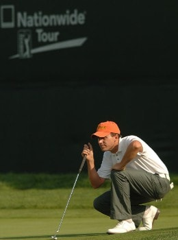 Jason Caron in action during the third round of the 2005 Mark Christopher Charity Classic Presented by Adelphia at Empire Lakes Golf Course in Rancho Cucamonga, California September 17, 2005.Photo by Steve Grayson/WireImage.com