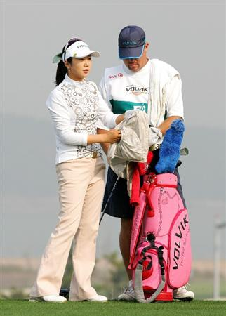 INCHEON, SOUTH KOREA - OCTOBER 30:  Kyeong Bae in the 13th hole during round one of Hana Bank Kolon Championship at Sky 72 Golf Club on October 30, 2009 in Incheon, South Korea.  (Photo by Chung Sung-Jun/Getty Images)