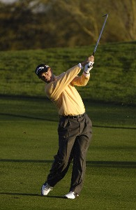 Scott McCarron in action during the first round of the FBR Open at the TPC Players Course on Thursday, February 2, 2006 in Scottsdale, Arizona.Photo by Marc Feldman/WireImage.com