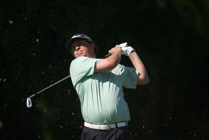 DORAL, FL - MARCH 13:  Jason Dufner tees off on the 15th tee box during round three of the 2010 WGC-CA Championship at the TPC Blue Monster at Doral on March 13, 2010 in Doral, Florida.  (Photo by Marc Serota/Getty Images)
