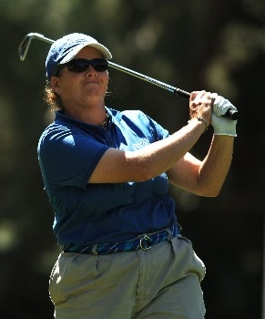 Moira Dunn in action during the second round of the 2005 LPGA  Takefuji Classic at the Las Vegas Country Club in Las Vegas, Nevada, April 15, 2005Photo by Steve Grayson/WireImage.com